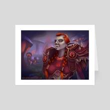 Warlock - Art Card by Kaitlyn Firehawk