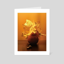 Autumn Still Life - Art Card by Sofia