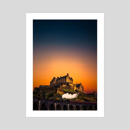 By the castle by Harsh Aaryan