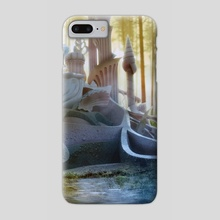 Fairy background - Phone Case by Jessica Dueck