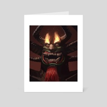 Aku - Art Card by Jason  Kang