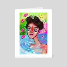 Cells - Art Card by Kritzia LaRose