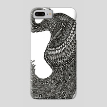 Black Swan - Phone Case by Jacque Tiongco