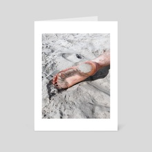 Foot - Art Card by JC Vogt