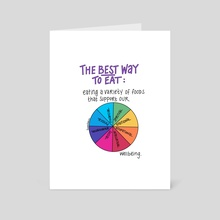 The Best Way - Art Card by Taylor Chan
