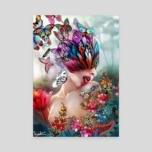 Garden - Canvas by Murilo Miranda