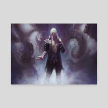 Spellbinding Terror - Canvas by Ben Hill