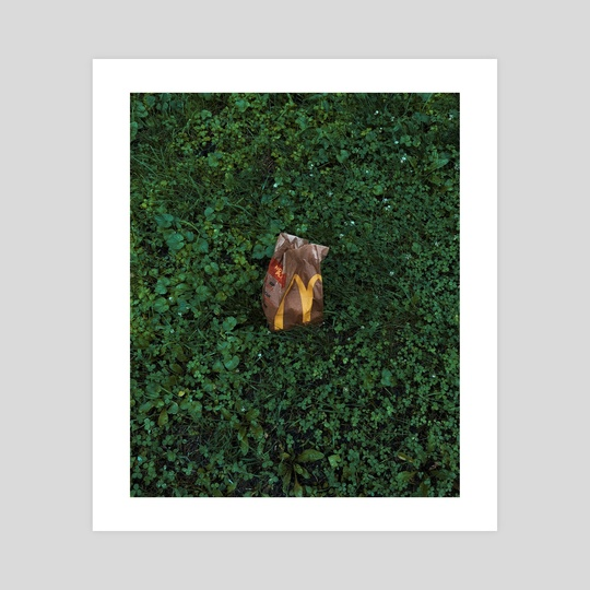 """""""Roadside trash"""", 2018. by graham littell"""