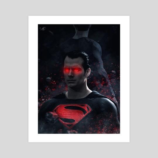 Red Superman by Marischa  Fanarts