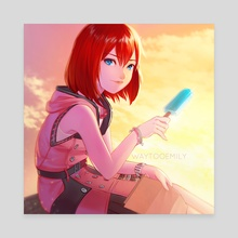Kairi - Canvas by WAY TOO EMILY