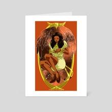 Leo - Art Card by Chelsea Mai