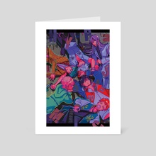 Division Leaders - Art Card by currypanini