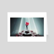 Valentine  - Art Card by robin mikalsen