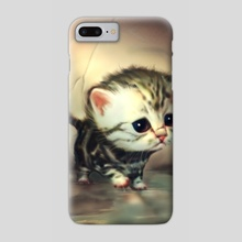 Little kitten - Phone Case by Okan Bülbül