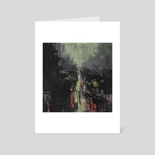Traffic in Rain 2 - Art Card by Matthew Hally