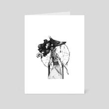 Dreamcatcher - Art Card by moon Mixtur