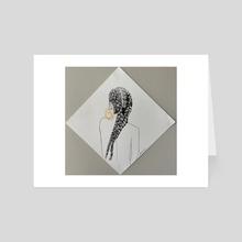 Double Braids - Art Card by Julianne Wheeler