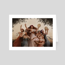 Terpsichore - Art Card by Clarisse Silva