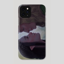 Arwen and Eowyn  - Phone Case by Mali Ware