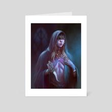 Broken Beauty - Art Card by Anthony Devine