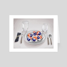 Tide Pod Challenge - Art Card by Hanah