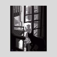 Hi! - Canvas by Jeremy Androschuk