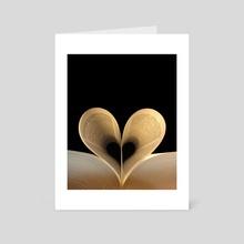 Love Reading - Art Card by Imagonarium