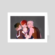tdbkdk - Art Card by pillowboat