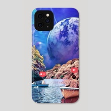 Nirvana - Phone Case by Trey Patterson