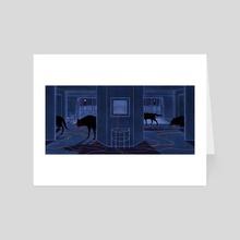 A Silent Room #7 - Art Card by Jialun Deng