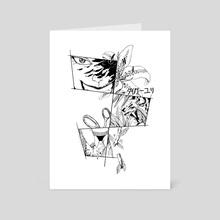 Tiger lily - Art Card by Vera Krendeleva
