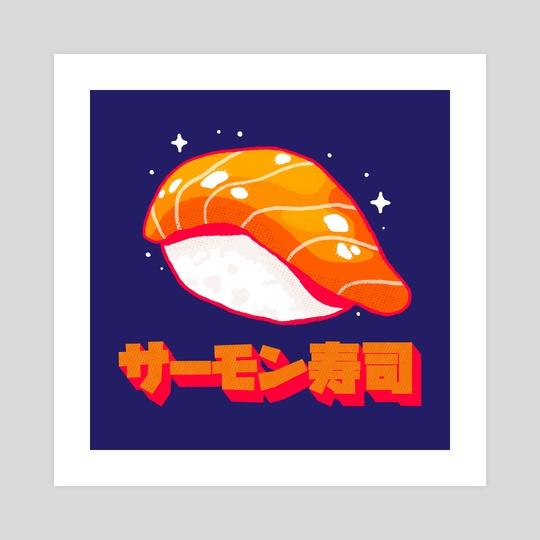 Sake sushi by Casandra Ng