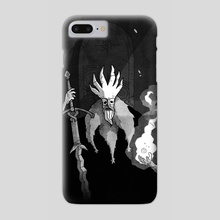 high king - Phone Case by J.V. Kukez