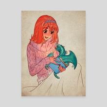 Dragon Tale - Canvas by NANA Nakano