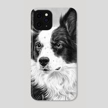 Dog Portrait 2 - Phone Case by Aurelia Chaintreuil