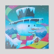Freezeezy Peak - Acrylic by Matt Rockefeller