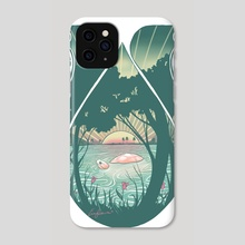 Turtle - Phone Case by Emmylou