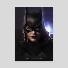 Batgirl - Canvas by Valentin Romero