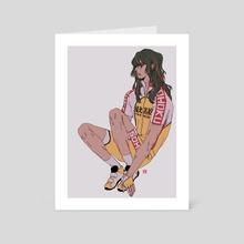 Makishima - Art Card by daifei