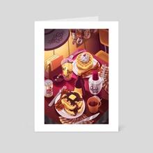 Eleven & Hopper - Art Card by Kat Lyons
