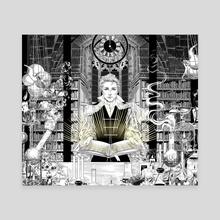 Alchemist - Canvas by Herbst Regen