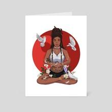 Eve's Peace - Art Card by David Djoco