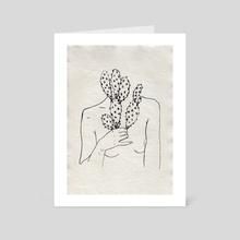 Prickly Pear - Art Card by X