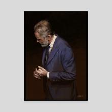 A Husband First - Canvas by Felipe Escobar
