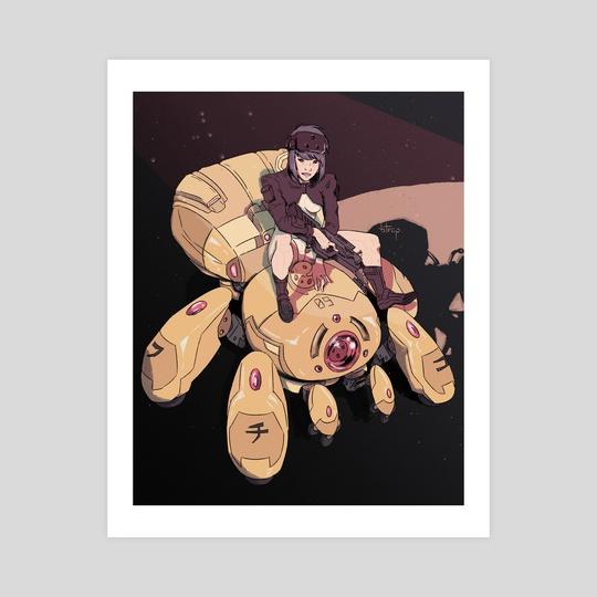 motoko kusanagi by stephen mcdowell