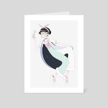 K - Art Card by Yee Hun