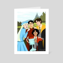 The Champions - Art Card by Eleni