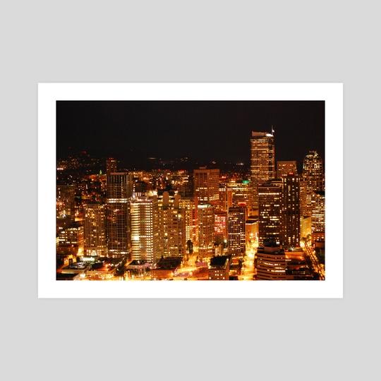 Seattle at Night by Alina AllieChi