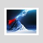 Thor - Art Print by Craig Henry