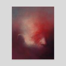 Lake - Canvas by Artyom Tarasov